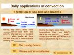 daily applications of convection