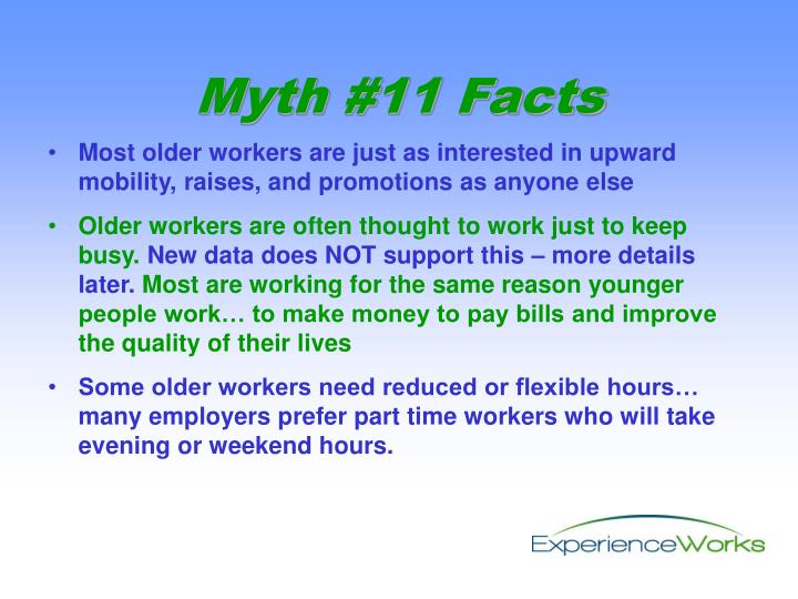 Most older workers are just as interested in upward mobility, raises, and promotions as anyone else
