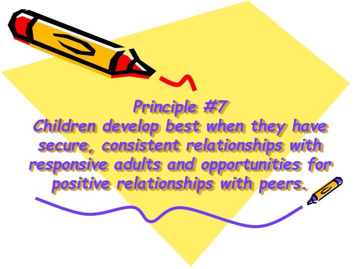 Principle #7