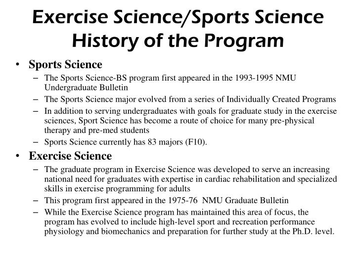 Exercise Science/Sports Science