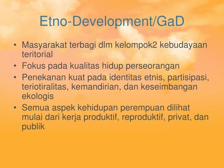Etno-Development/GaD