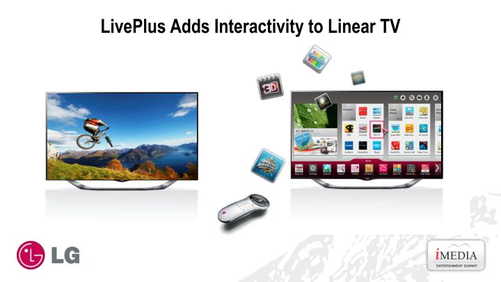 Liveplus adds interactivity to linear tv