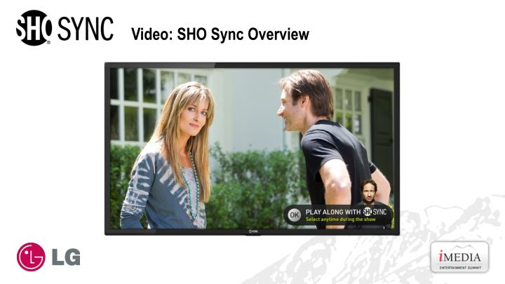 Video: SHO Sync Overview