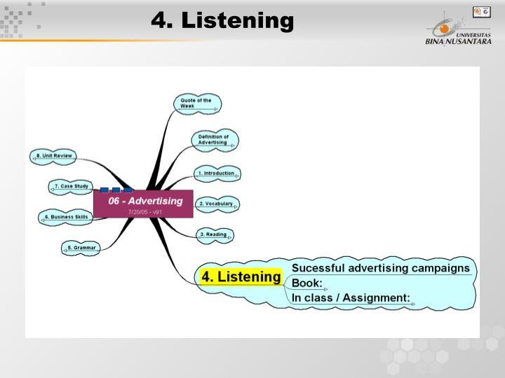 4. Listening