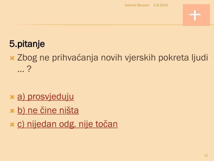 5.pitanje