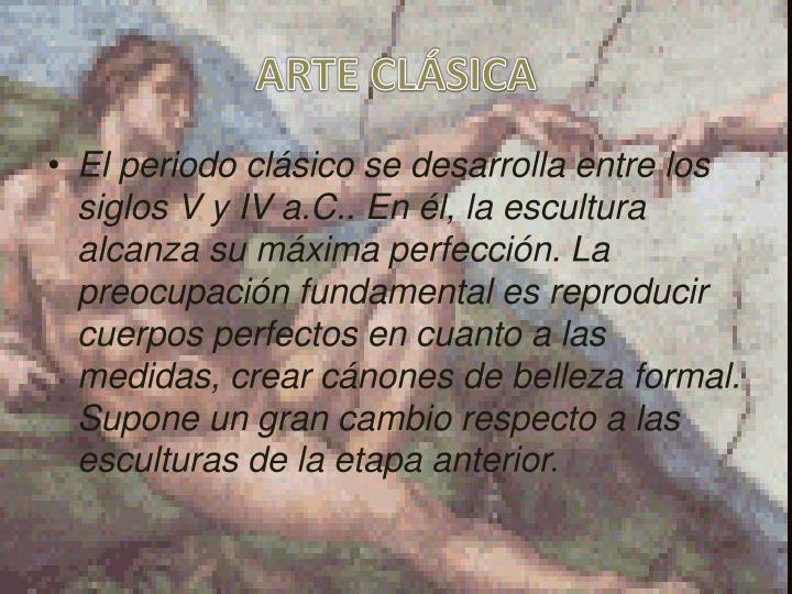 ARTE CLÁSICA