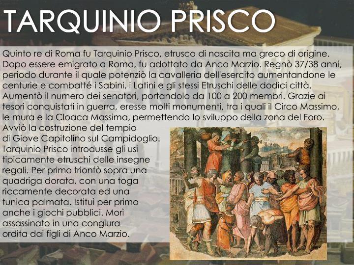 TARQUINIO PRISCO