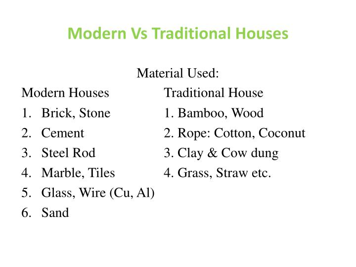 modernism vs neo traditionalism