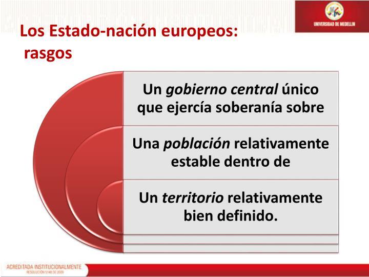 Los Estado-nación europeos: