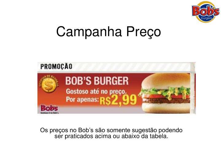 Campanha Preço