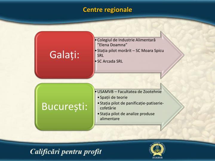 Centre regionale