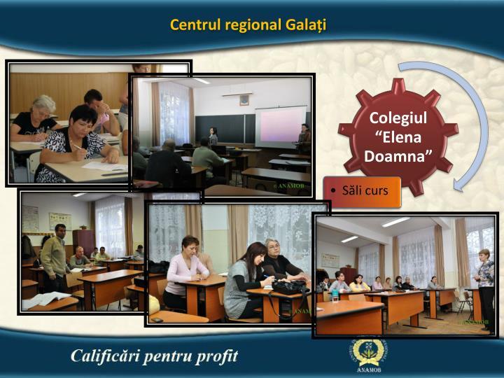 Centrul regional Galați