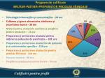program de calificare brutar patiser preparator produse f inoase