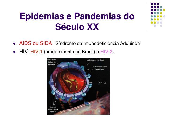 Epidemias e Pandemias do