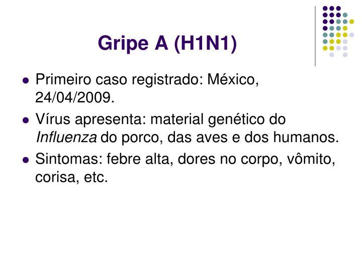 Gripe A (H1N1)