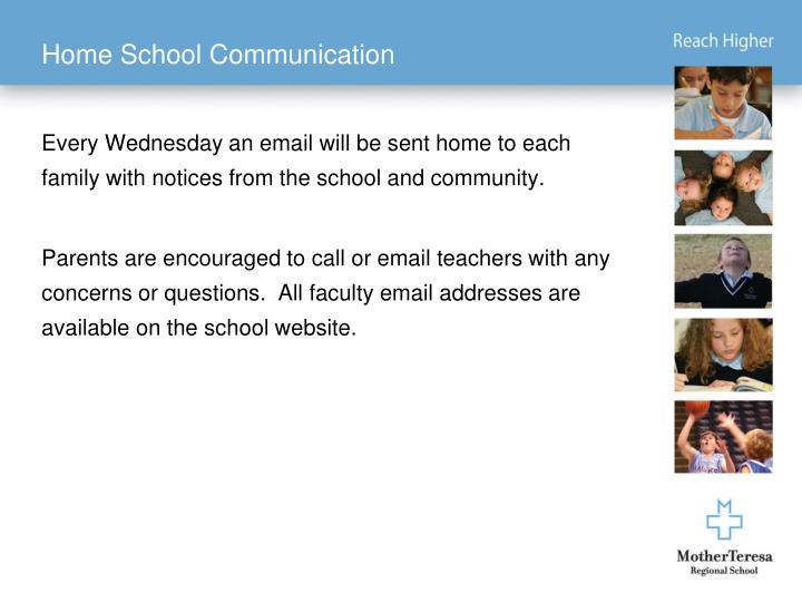 Home School Communication