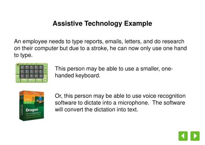Assistive Technology Example