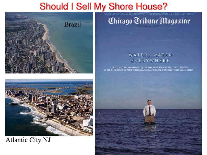 Should I Sell My Shore House?