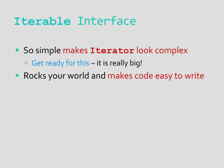 Iterable