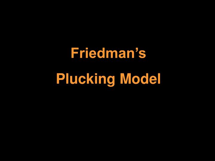 Friedman's