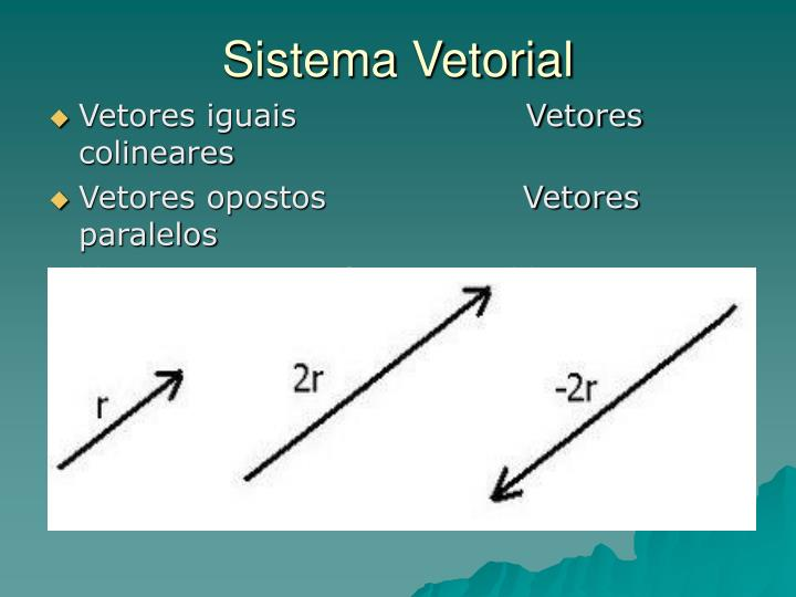 Sistema Vetorial