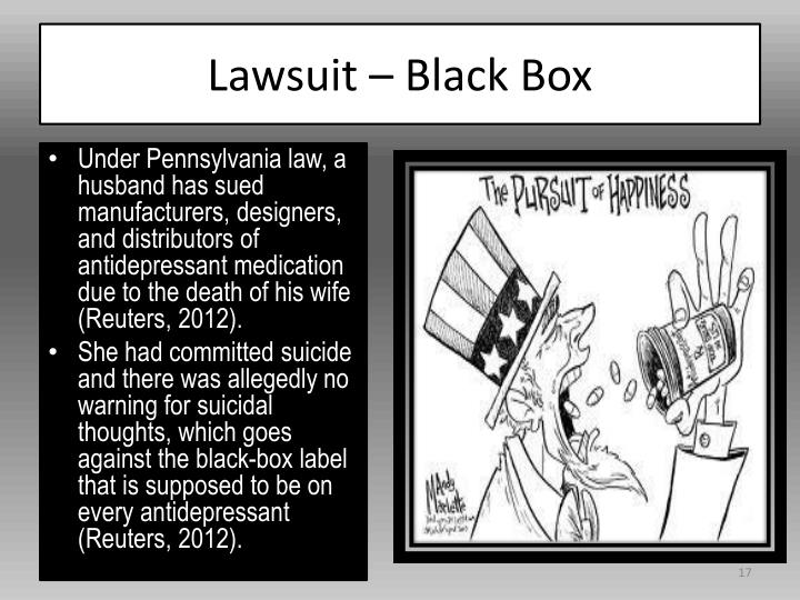 Lawsuit – Black Box