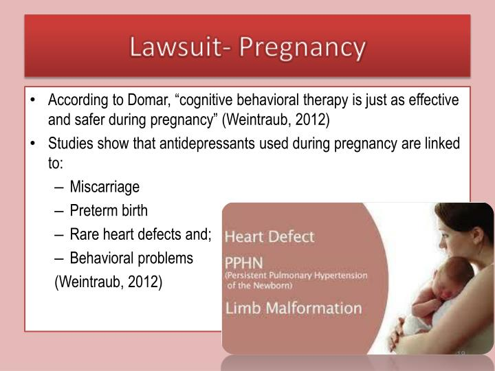 Lawsuit- Pregnancy