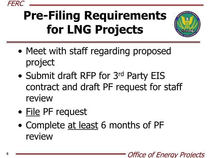 Pre-Filing Requirements
