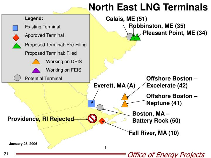 North East LNG Terminals