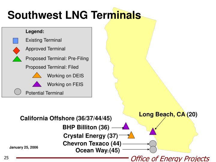 Southwest LNG Terminals