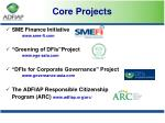 core projects