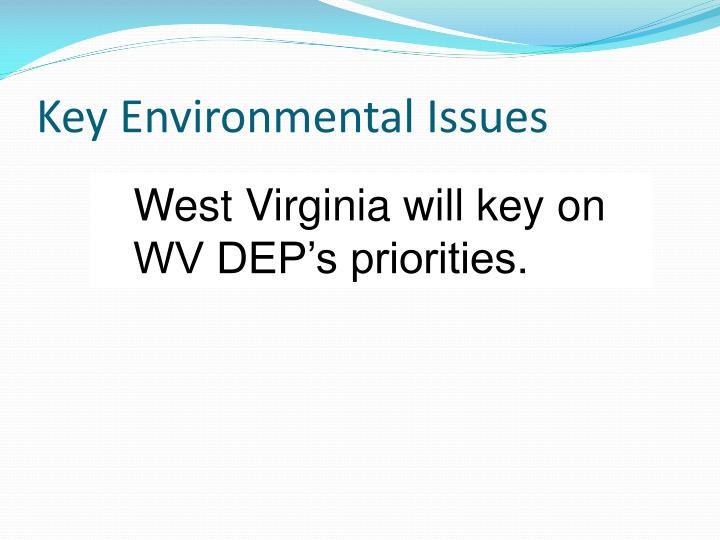 Key Environmental Issues