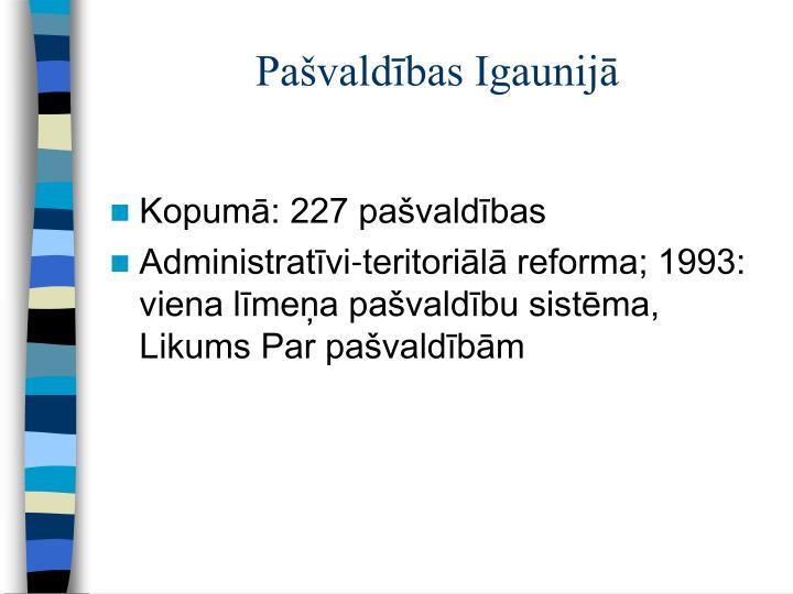 Pašvaldības Igaunijā