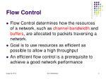 flow control1