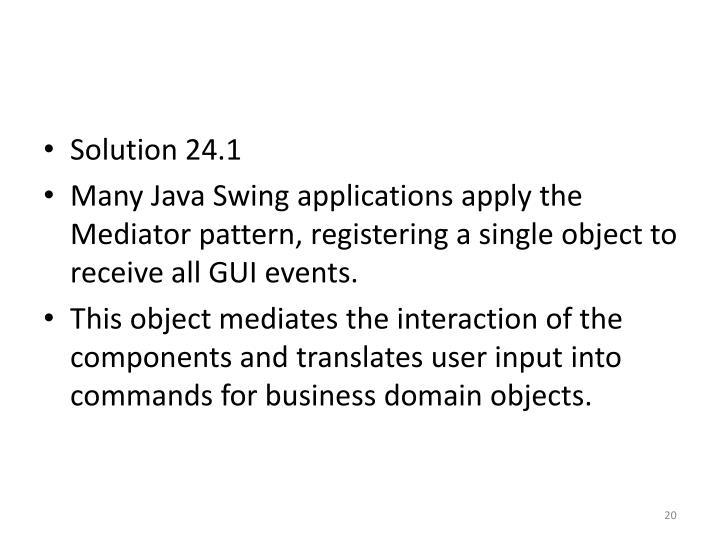 Solution 24.1