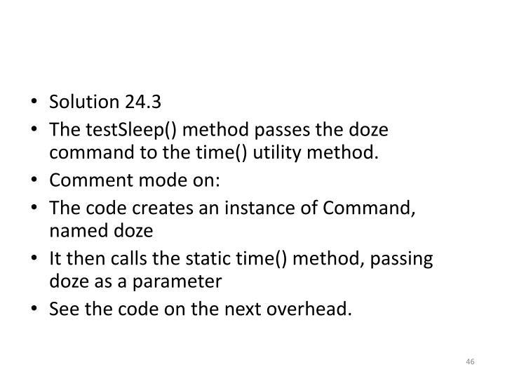 Solution 24.3