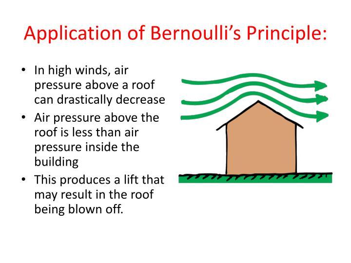 bernoullis principle Bernoulli's principle   let's  explore bernoulli's principle and his explanation on the physical properties of air .