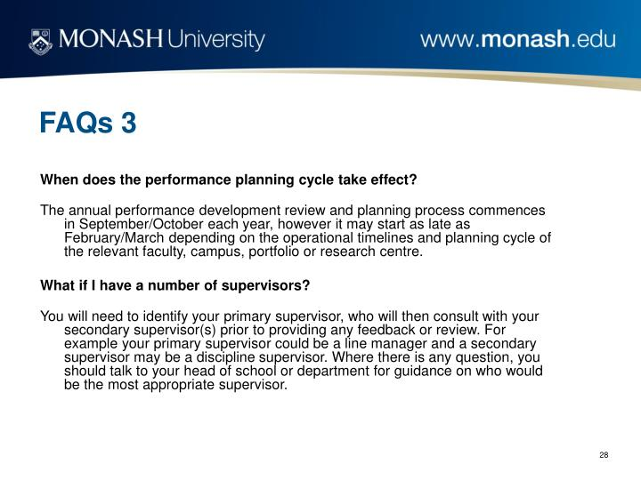 FAQs 3