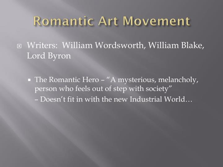 Romantic Art Movement