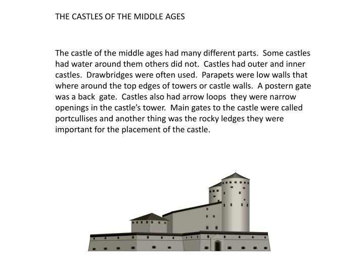 THE CASTLES OF