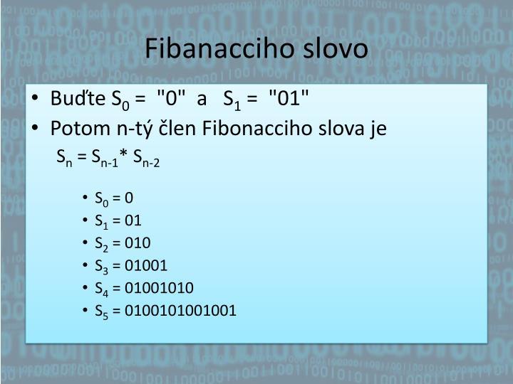 Fibanacciho