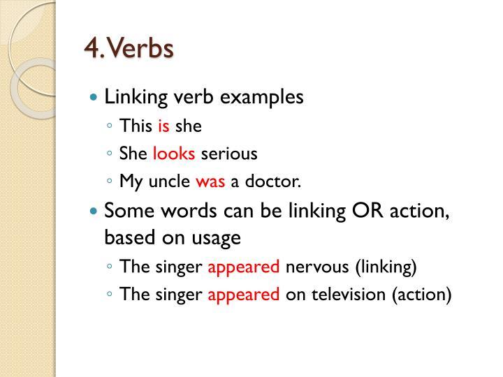 4. Verbs