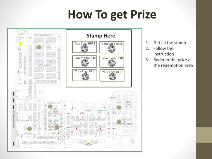How To get Prize