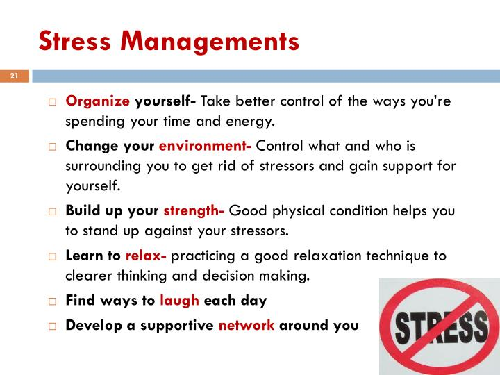 Stress Managements