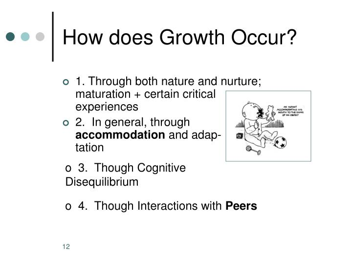 How does Growth Occur?