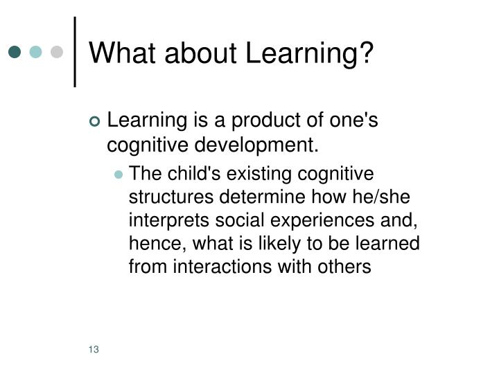 What about Learning?