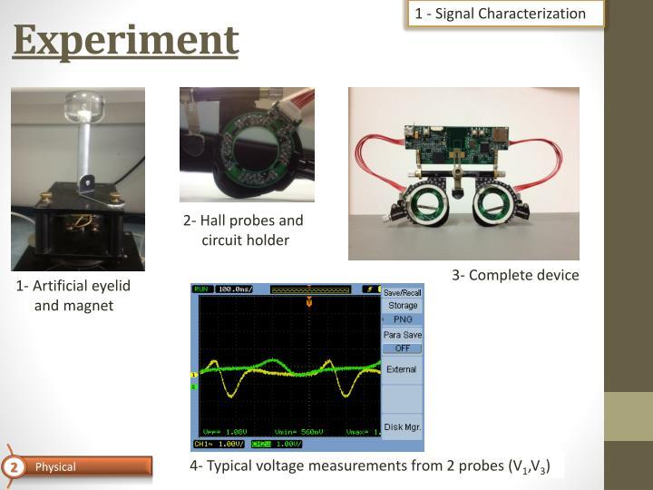 1 - Signal Characterization