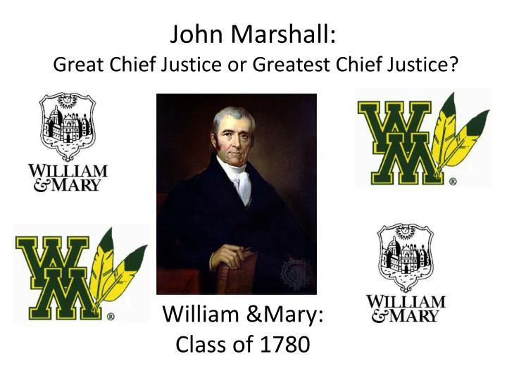 John Marshall: