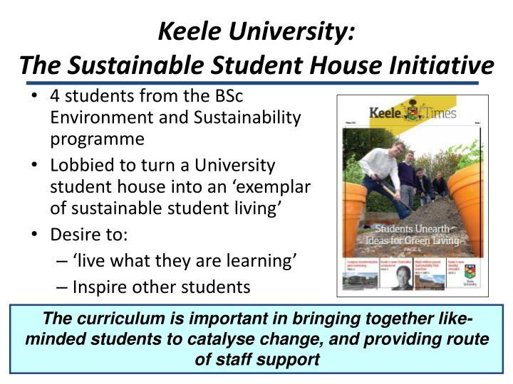 Keele University: