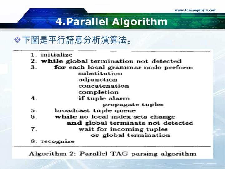 4.Parallel Algorithm